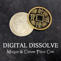 Digital Dissolve (Morgan & Chinese Palace Coin)