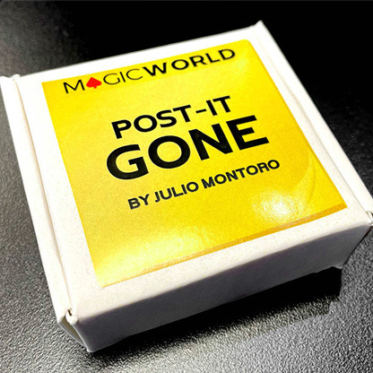 POST IT GONE (Gimmicks and Online Instructions) by Julio Montoro and MagicWorld