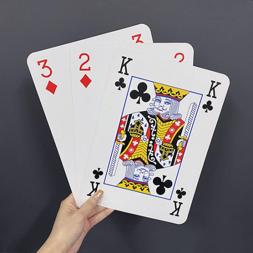 Jumbo Three Card Monte (28*20cm)