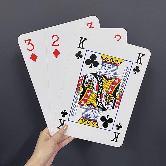 Jumbo Three Card Monte (28*20cm)