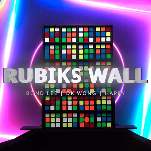 * Rubik's Wall by MS Magic