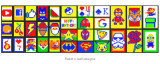 * Rubik's Wall by MS Magic