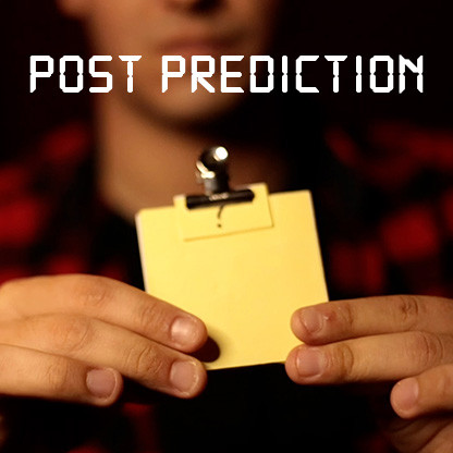 Post Prediction (Gimmicks and Online Instructions) by Magic from Greece