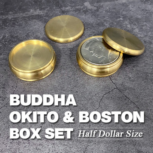 Buddha Okito & Boston Box Set (Half Dollar Size)
