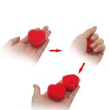 Magic Hearts - Double Red Sponge