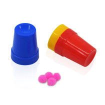 Mini Cups & Balls - Plastic