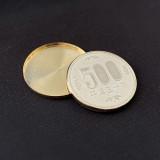 Expanded Shell Japan 500 Yen (Brass, Gilded)