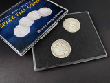 Space Fall Coins (Walking Liberty Half Dollar) by Oliver Magic