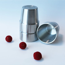 * Stainless Steel Cups and Balls (Large)