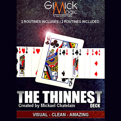 * THE THINNEST DECK by Mickael Chatelain