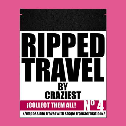 RIPPED TRAVEL (Gimmicks and Online Instruction) by Craziest
