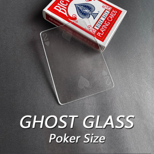 Ghost Glass (Poker Size)