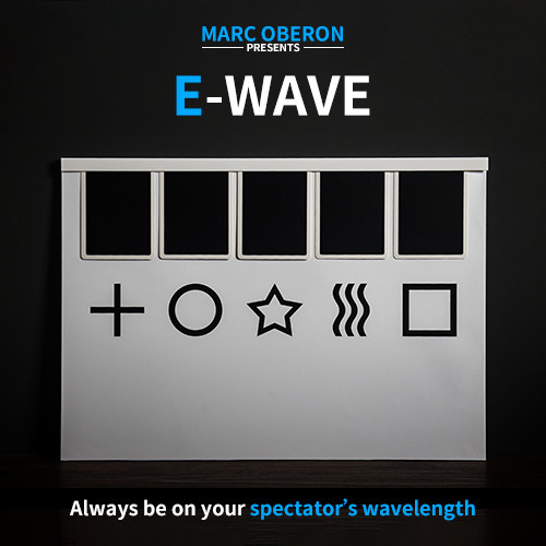 * E WAVE (Gimmick and Online instructions) by Marc Oberon