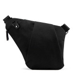 NewBring Shoulder Bags for Men Waterproof Nylon Crossbody bags Male Messenger Bag Casual Travel Handbags, Black