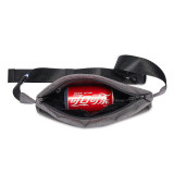New-Bring Fanny Pack for Men and Women Waterproof Waist Bag Bum Bag with Hidden Pockets Travel Sport Sling Bag (Black)