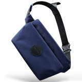 New-Bring Fanny Pack for Men and Women Waterproof Waist Bag Bum Bag with Hidden Pockets Travel Sport Sling Bag (Blue)