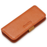 NewBring Key Holder Genuine Leather Housekeeper Key Wallet Money Car Key Organizer Keychain Pouch With Card Slot For Long Key,