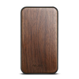 New-Bring Credit Card Holder RFID Blocking Slim Flip Card Wallet for Men and Women, Cherry Wood Cover