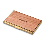 New-Bring Professional Business Card Holder Slim Pocket Business Card Case Wallet for Men and Women Leather Cover Metal Case (4)