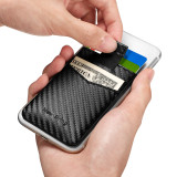 New-Bring Card Holder for Back of Phone for Credit Card, Business Card & Id / Stick On Wallet Card Holder,