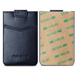 New-Bring Card Holder for Back of Phone for Credit Card, Business Card & Id / Stick On Wallet Card Holder, Blue