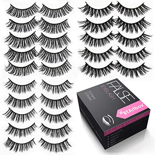 Handmade False Eyelashes Set-J03