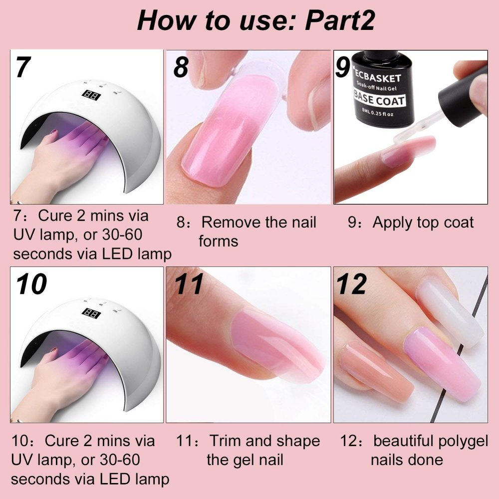 Do You Need A Uv Lamp For Polygel Nails Nailstip
