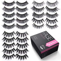 Handmade False Eyelashes Set--J02