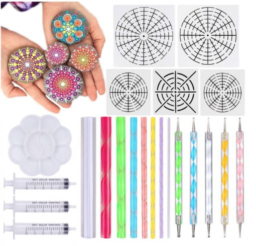 Mandala Dotting Tools 22 Pcs