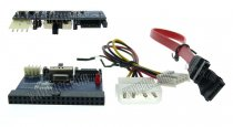 Wavertec Dual Directions IDE PATA to SATA to IDE PATA Converter Cable Card