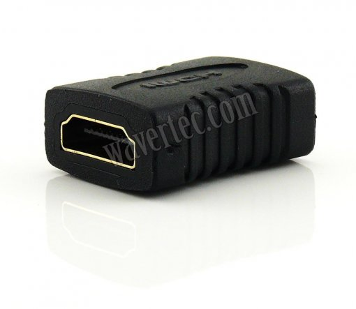Wavertec HDMI Cable Coupler Female to Female Extender Connector HDMI 1.4