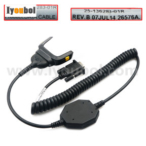 RS232 Comm & Charging Cable (25-136283-01R) for Motorola Symbol Zebra MC2100