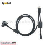 USB Comm & Charging cable (CBL-TC8X-USBCHG-01) for Motorola Symbol Zebra TC8000 TC80NH