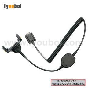 RS232 Client Communications Cable (25-136283-01R) for Motorola Symbol MC65, MC659B