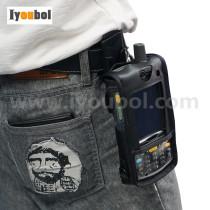 Leather Case ( Vertical ) with Belt Clip for Symbol MC75 MC7506 MC7596 MC7598 MC75A0
