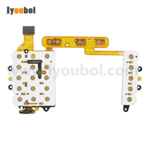 Keypad PCB with Flex Cable Replacement for Motorola Symbol WT41N0