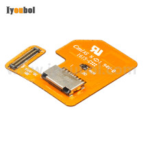 MicroSD Card Connector with Flex Cable for Motorola Symbol TC70 TC75
