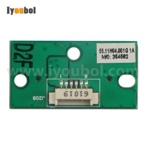 Battery Charging PCB (from Single Cradle) for Symbol MC75 MC75A0, MC75A6, MC75A8