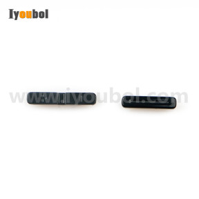 2pcs Side Button (Black) for Motorola Symbol Zebra TC200J TC25