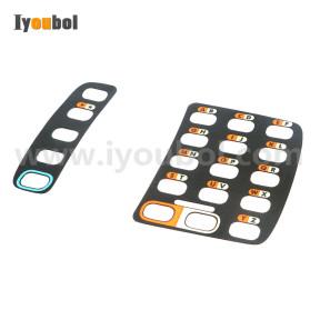 Set of Keypad Nameplate/ Overlay for Symbol WT4070