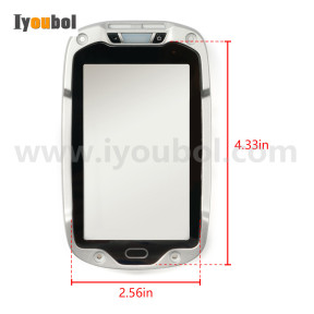 Front cover with Touch screen For Motorola Symbol Zebra TC8000 TC80NH