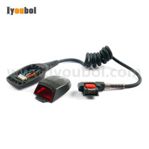 Power Cable, Scan Cover with Scanner Lens Replacement for Symbol RS409/RS419