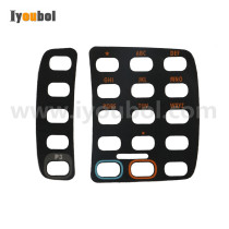 2nd version Set of Keypad Nameplate/Overlay for Symbol WT4070