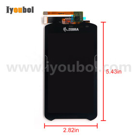 LCD Module with Touch Screen Replacement for Zebra Motorola TC51 TC510K