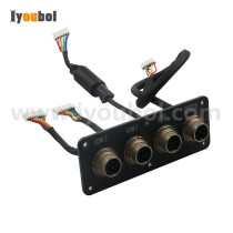 Com,Speaker,Keyboard Connector with Cable for Symbol VC5090