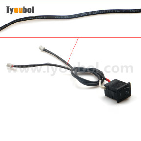 Power on/off Button with Cable for Symbol VC5090