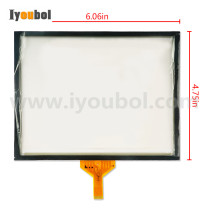 Touch Screen Replacement for Symbol VC6000, VC6096