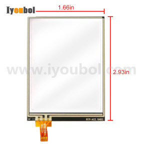 Touch Screen (Digitizer) Replacement for Honeywell Dolphin 6000