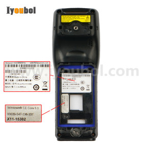 Back Cover ( 2D Version ) Replacement for Honeywell Dolphin 5100
