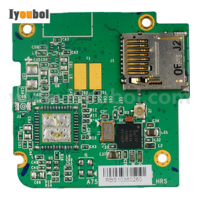 Memory Card PCB Replacement for Honeywell Dolphin 7600EP